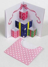 バースデーカード/ポップアップカード/バレンタインカード