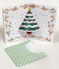 クリスマスカード/ポップアップカード